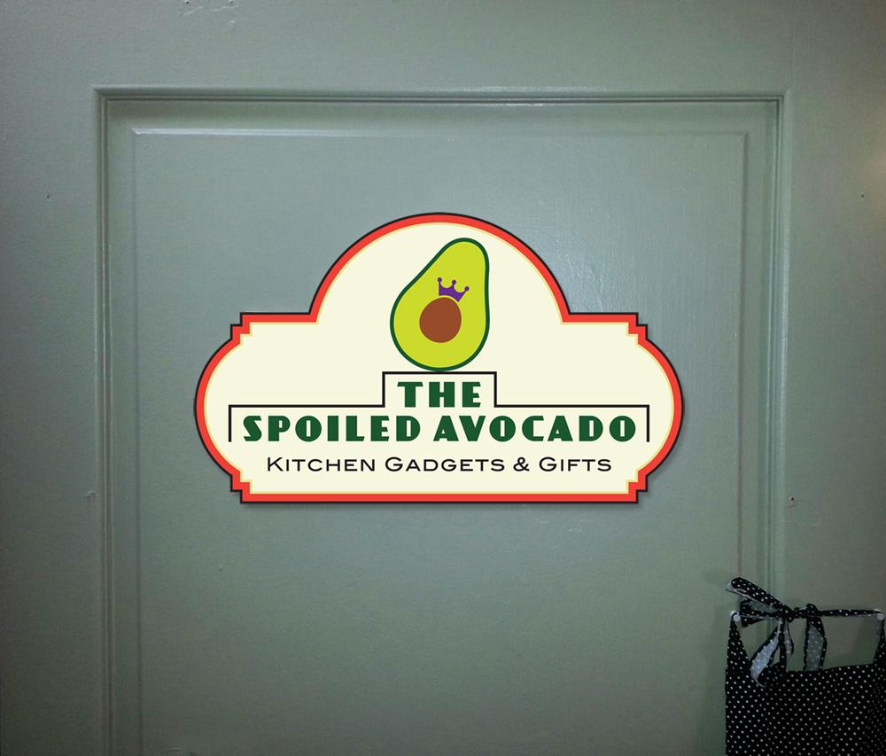 SpoiledA.door-sign