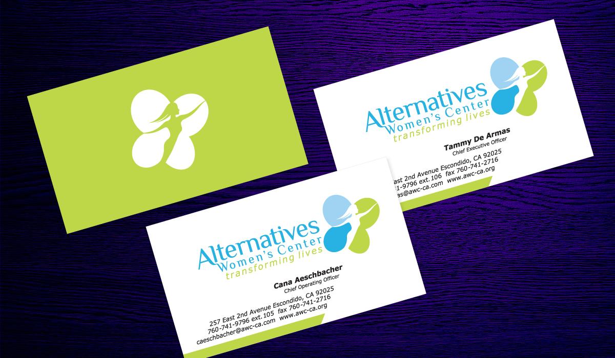 Alternatives womens center awc business cards colourmoves